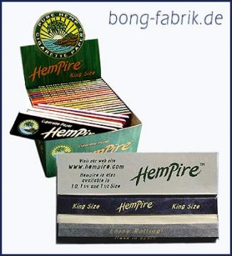 Hempire King Size Hanf Papers 50er Karton