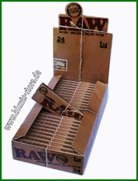 Raw Papers 24er Karton 1 1/4