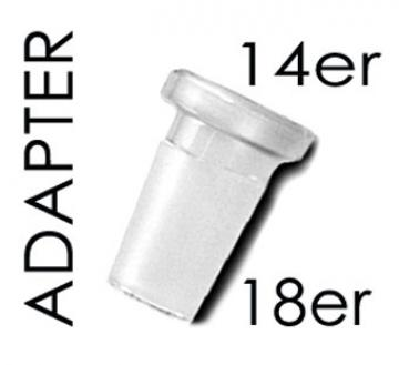 Adapter 18/inside 14 Schliff
