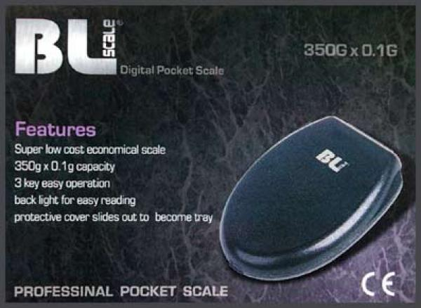 BL Scale Black Leaf Digitalwaage 350g