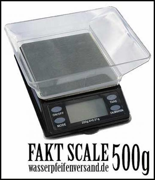 Digitalwaage Fakt 500g
