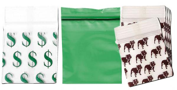 Zipbags mit Dollar Top Dog Motv